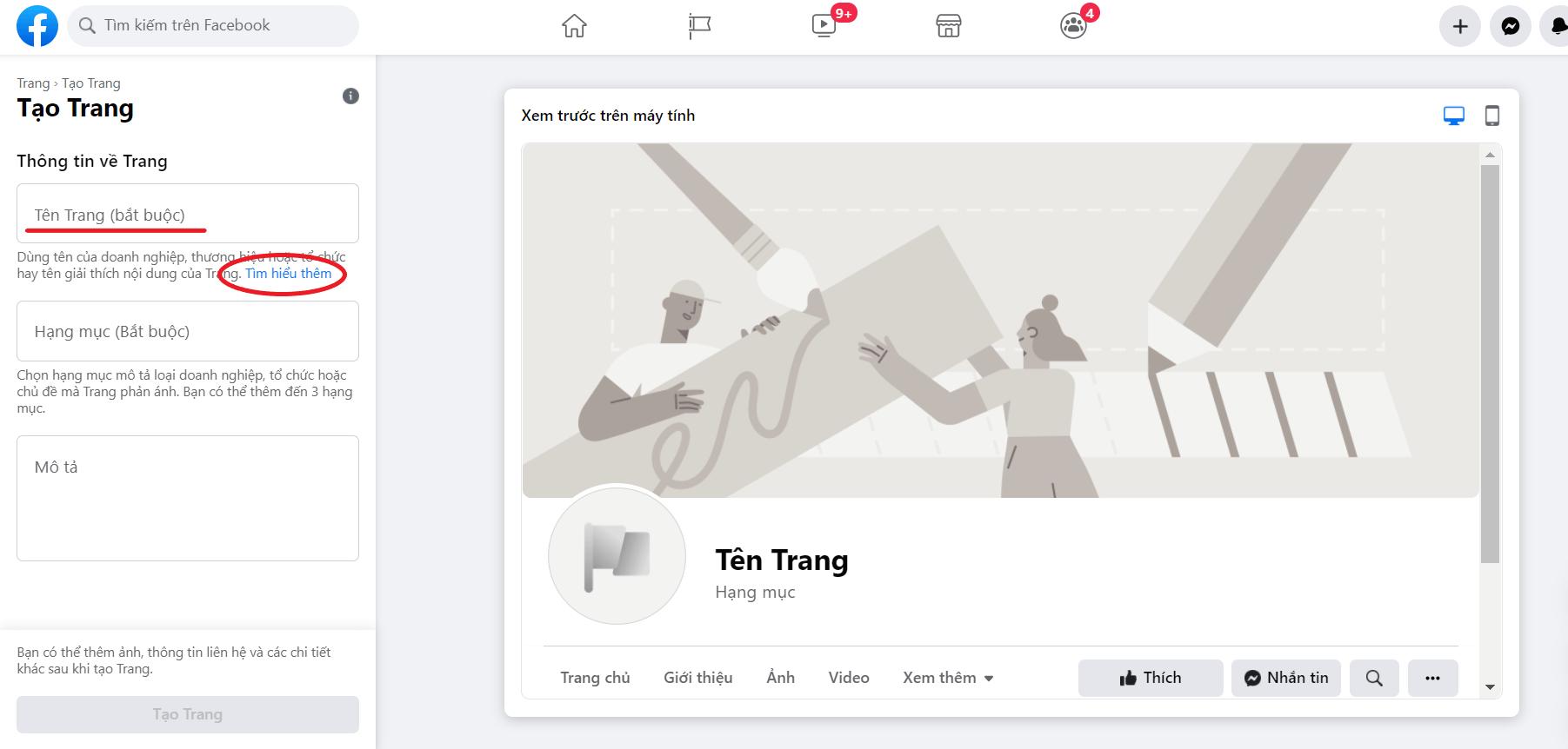 Tim hieu cach dat ten Fanpage Facebook