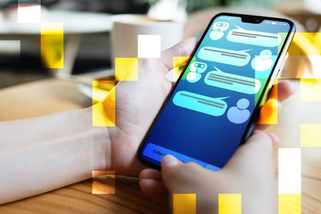 Chatbot giup tiep can khach hang tiem nang truc tiep