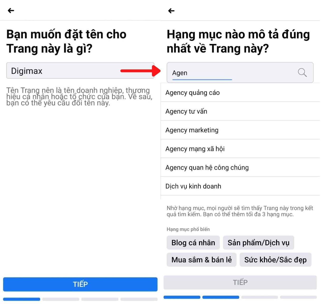 Tao Fanpage tren Facebook de ban hang