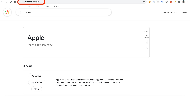 MREID cua google knowledge